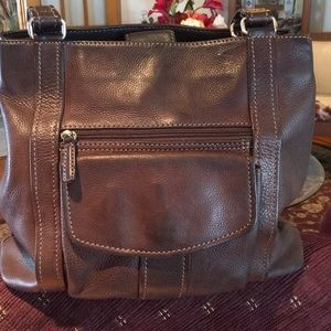 1954 Leather Fossil Handbag